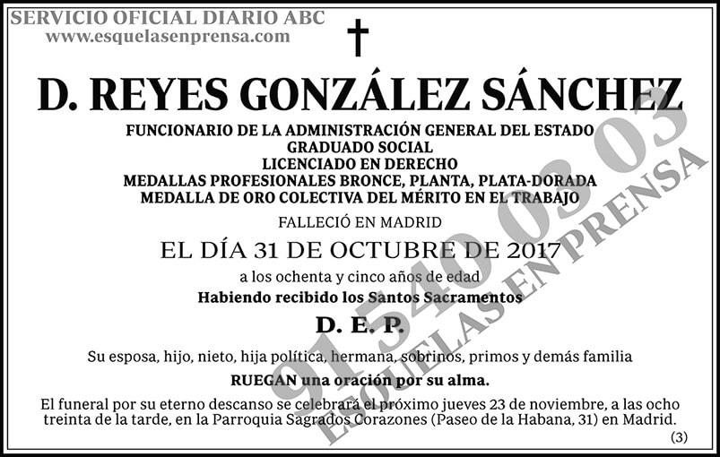 Reyes González Sánchez